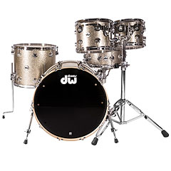 DW Collector's Finish Ply Nickel Sparkle « Batterie acoustique