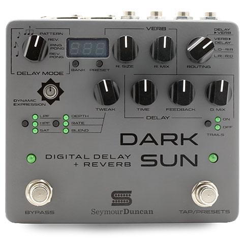 Effectpedaal Gitaar Seymour Duncan Dark Sun Mark Holcomb Signature Delay / Reverb