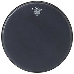"Remo Ambassador Black Suede 10"" Tom Head"