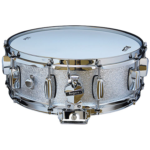 "Rogers Dyna-Sonic 14"" x 5"" Model 32 Snare Silver Sparkle"
