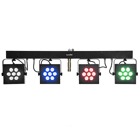 Set completo Eurolite KLS-3002 Next Compact Light Set
