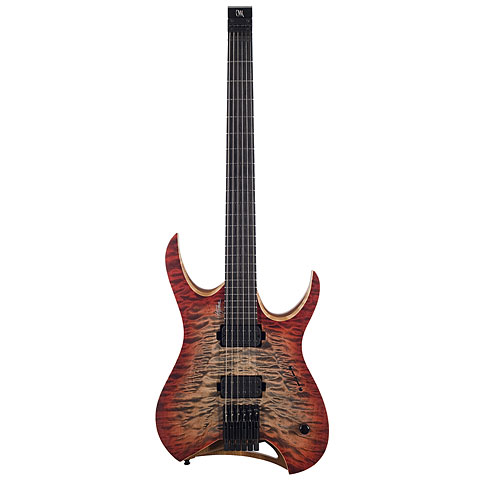 Guitarra eléctrica Mayones Hydra Elite 6 Trans 3-Tone Red Burst Matt