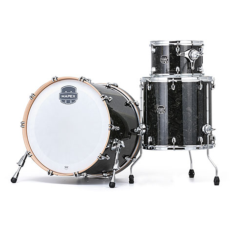 "Batterie acoustique Mapex Saturn V MH Tour Edition 24"" Black Pearl"