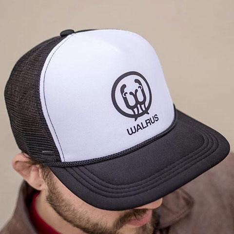Cap Walrus Audio Black/White Panel Trucker Hat