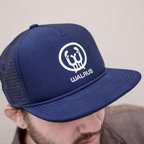 Cap Walrus Audio Navy Panel Trucker Hat