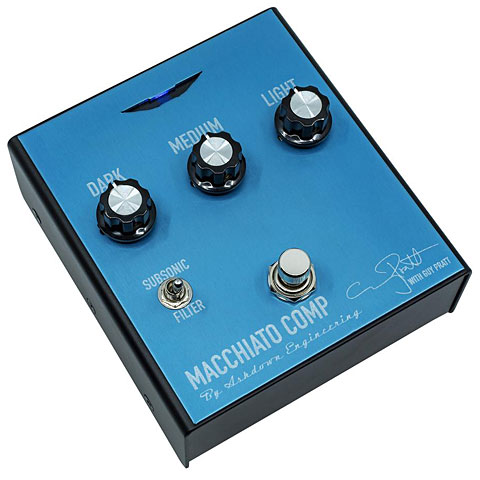 Effektgerät E-Bass Ashdown Macchiato Compressor Pedal
