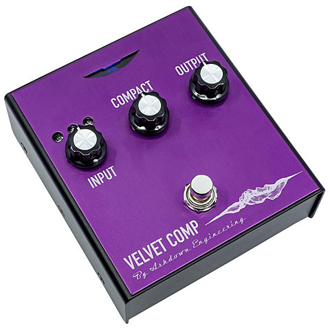 Bass Guitar Effect Ashdown Velvet Compressor Pedal