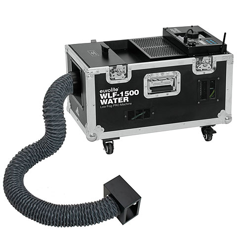 Máquina de niebla Eurolite WLF-1500 Water Low Fog PRO