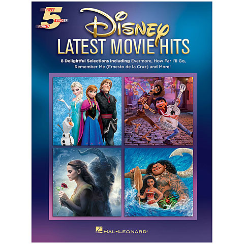 Notenbuch Hal Leonard Disney Latest Movie Hits