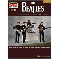 Hal Leonard Deluxe Guitar Play-Along Volume 4 - The Beatles « Play-Along