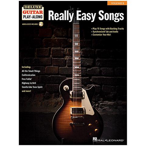 Play-Along Hal Leonard Deluxe Guitar Play-Along Vol. 2 - Really Easy Song