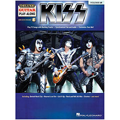 Hal Leonard Deluxe Guitar Play-Along Vol. 18 - Kiss « Play-Along