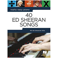 Music Sales Really Easy Piano - 40 Ed Sheeran Songs « Notenbuch