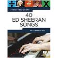Recueil de Partitions Music Sales Really Easy Piano - 40 Ed Sheeran Songs