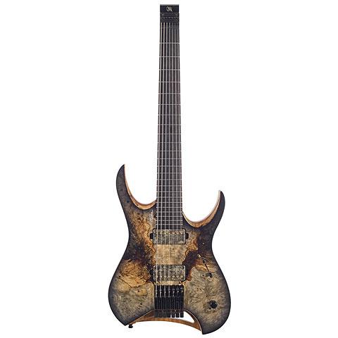 Mayones Hydra Elite 7 Trans Natural Graphite Burst Satin « E-Gitarre