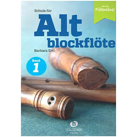 Libros didácticos Holzschuh Jede Menge Flötentöne Schule für Altblockflöte Bd. 1