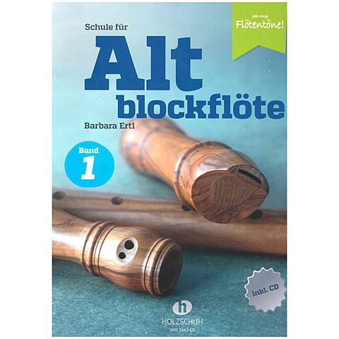 Holzschuh Jede Menge Flötentöne Schule für Altblockflöte Bd. 1 (+CD)