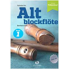 Holzschuh Jede Menge Flötentöne Schule für Altblockflöte Bd. 1 (+CD) « Libros didácticos