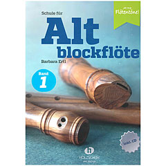 Holzschuh Schule für Altblockflöte 1 (mit CD-Extra) « Leerboek