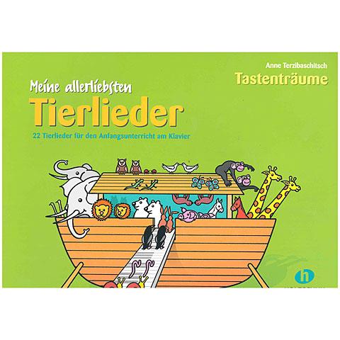 Libro de partituras Holzschuh Meine allerersten Tierlieder