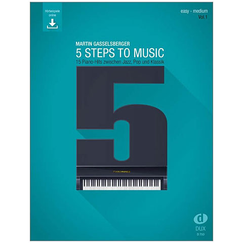 Cancionero Dux 5 Steps to Music (Vol. 1)