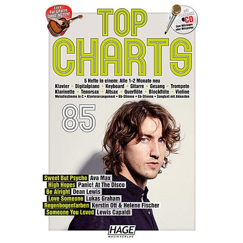 Recueil de morceaux Hage Top Charts Bd.85