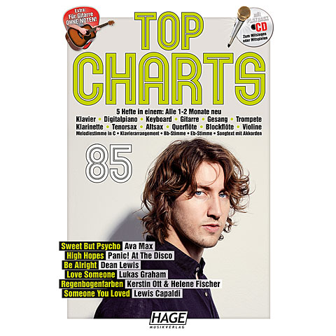 Songbook Hage Top Charts Bd.85