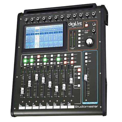 Mesa de mezclas digital Studiomaster DigiLive 16