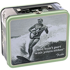 "Fender Lunchbox ""You Won't Part With Yours Either"" « Geschenkartikel"