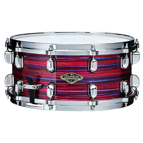 """Caisse claire Tama Starclassic Walnut Birch 14"""" x 6,5"""" Lacquer Phantasm Oyster"""