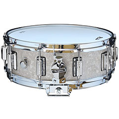 "Rogers Dyna-Sonic 14"" x 5"" Model 36 Beavertail Snare White Marine Pearl « Snare drum"
