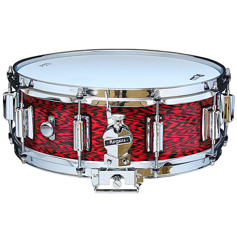 "Caisse claire Rogers Dyna-Sonic 14"" x 5"" Model 36 Beavertail Snare Red Onyx"
