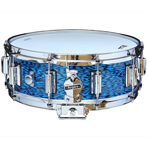 "Rogers Dyna-Sonic 14"" x 5"" Model 36 Beavertail Snare Blue Onyx"