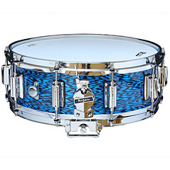 "Rogers Dyna-Sonic 14"" x 5"" Model 36 Beavertail Snare Blue Onyx « Snare"