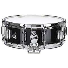 "Rogers Dyna-Sonic 14"" x 5"" Model 36 Beavertail Snare Black Gloss Lacquer « Snare"
