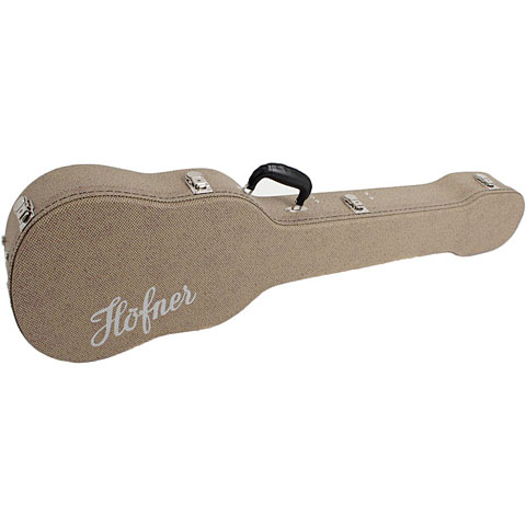 Koffer E-Bass Höfner H64/VB-R für Beatles Bass