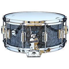 "Rogers Dyna-Sonic 14"" x 6,5"" Model 37 Beavertail Snare Black Diamond Pearl « Snare Drum"