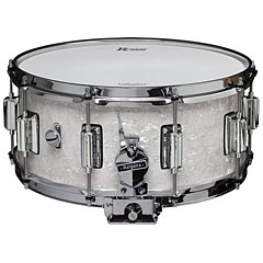 "Rogers Dyna-Sonic 14"" x 6,5"" Model 37 Beavertail Snare White Marine Pearl « Snare Drum"