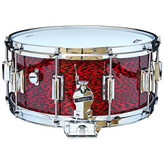 "Rogers Dyna-Sonic 14"" x 6,5"" Model 37 Beavertail Snare Red Onyx « Caisse claire"