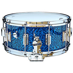 "Rogers Dyna-Sonic 14"" x 6,5"" Model 37 Beavertail Snare Blue Onyx « Snare"