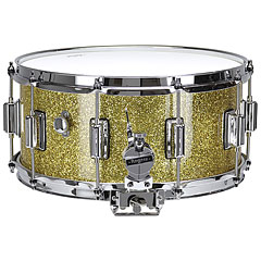 "Rogers Dyna-Sonic 14"" x 6,5"" Model 37 Beavertail Snare Gold Sparkle Lacquer « Snare Drum"