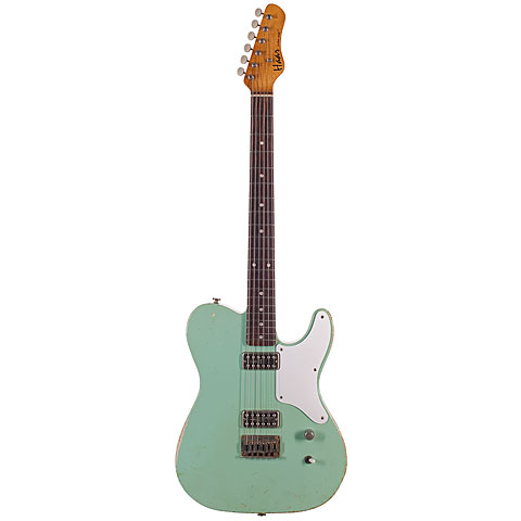 Haar Traditional T aged, Surf Green « Electric Guitar