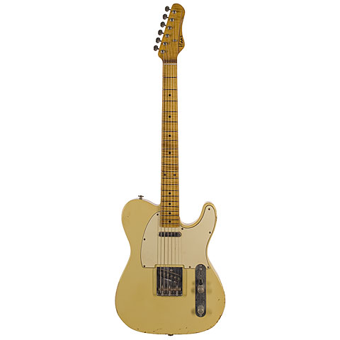 Haar Traditional T aged, Vintage White « Guitare électrique