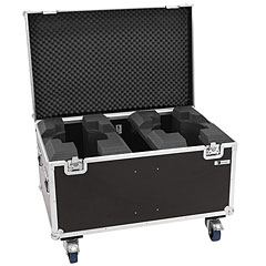 Roadinger Flightcase 2x LED TMH-X19 Moving head « Case pour lumière