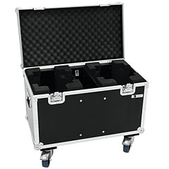 Roadinger Flightcase 2x TMH-X5 with Wheels « Lichtcase