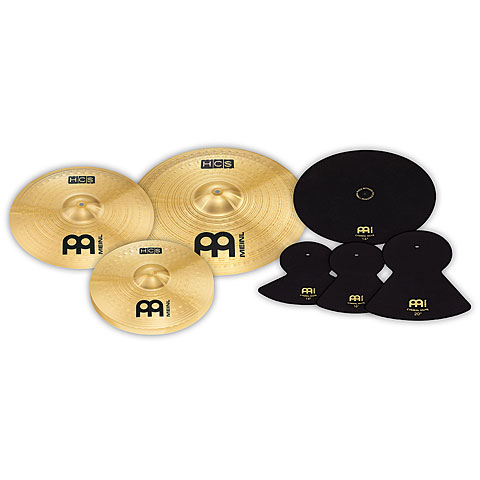 Meinl HCS Complete Cymbal Set (14HH/16C/20R) + free MCM-141620