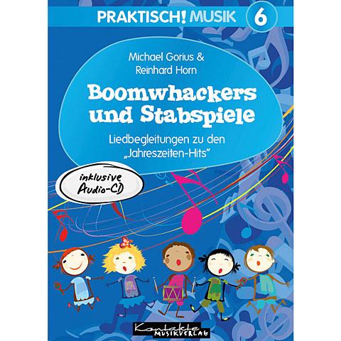 Libros didácticos Kontakte Musikverlag Praktisch! Musik 6 - Boomwhackers und Stabspiele