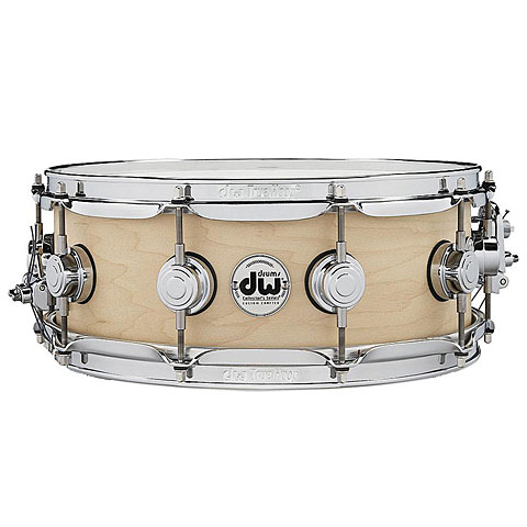 "Caja DW Satin Oil 14"" x 5,5"" Natural Maple Snare Drum"