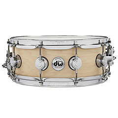 "DW Satin Oil 14"" x 5,5"" Natural Maple Snare Drum « Snare Drum"