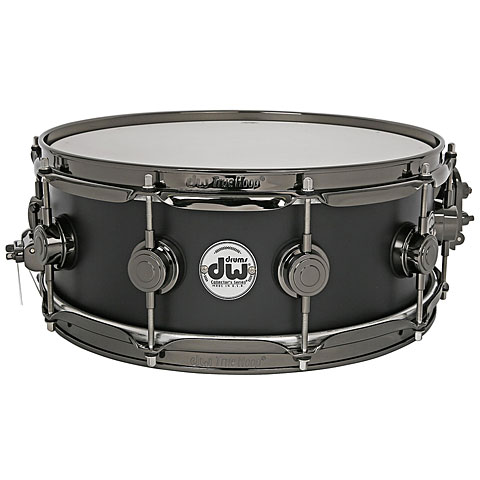 "Snare Drum DW Satin Oil 14"" x 5,5"" Special Edition Matte Black Snare Drum"